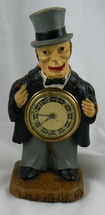 "Syroco ""Old Codger"" Clock - Corkscrew Go-With"