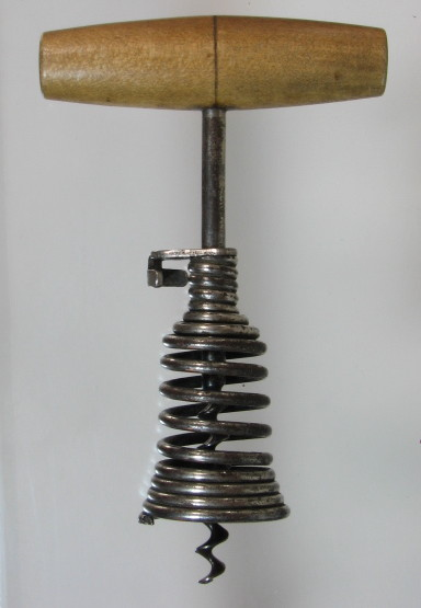 German Spring Barrel Corkscrew
