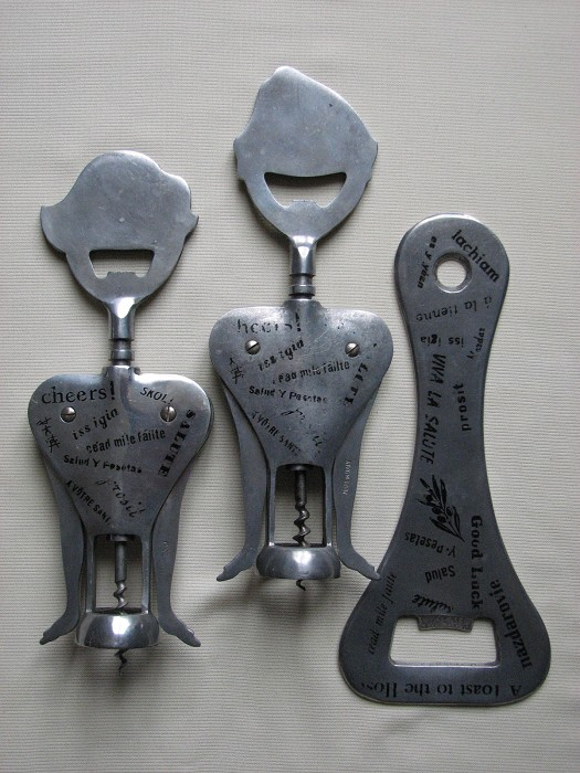 Two Gemelli Double Levers - Barmaid and Bar man