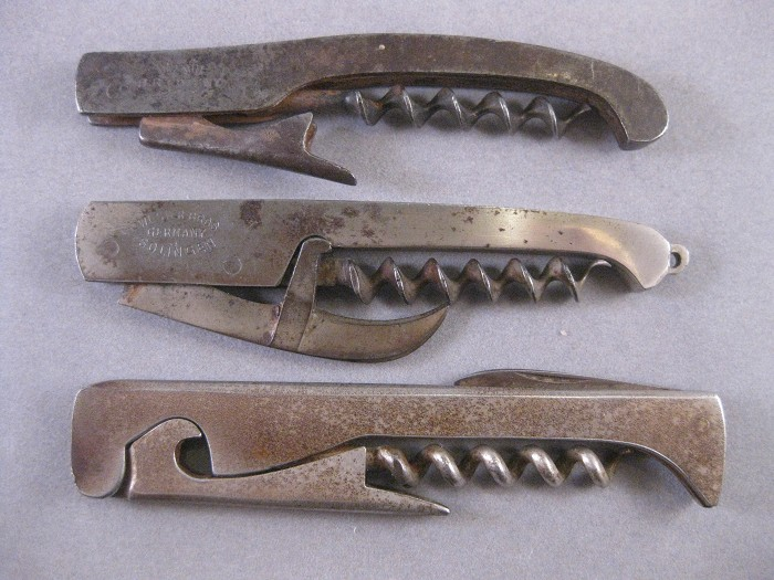 3 - GERMAN WAITER'S FRIEND LEVERS - ALL MARKED