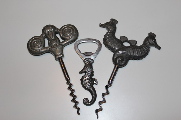 Figural corkscrews from Denmark - Just Andersen