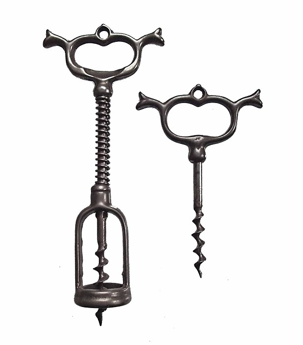 Two  French Corkscrews