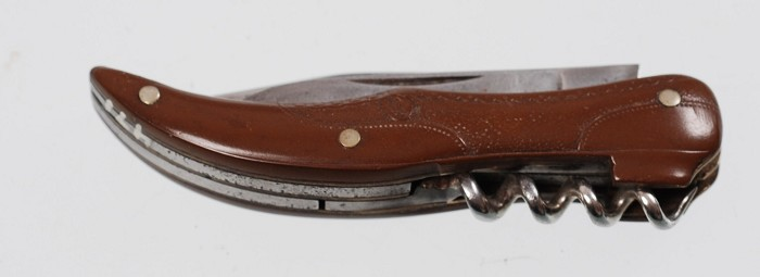 German Figural Pocket Knife in the Form of a Shoe