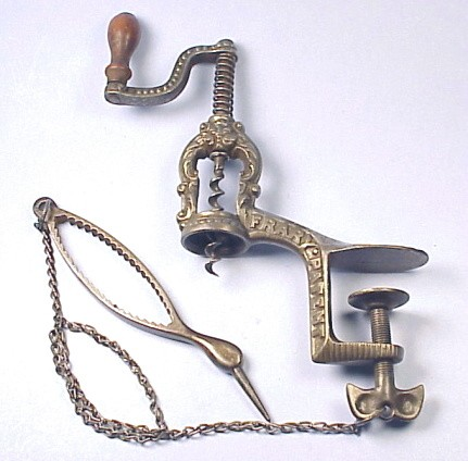 Rare Frary Bar Corkscrew