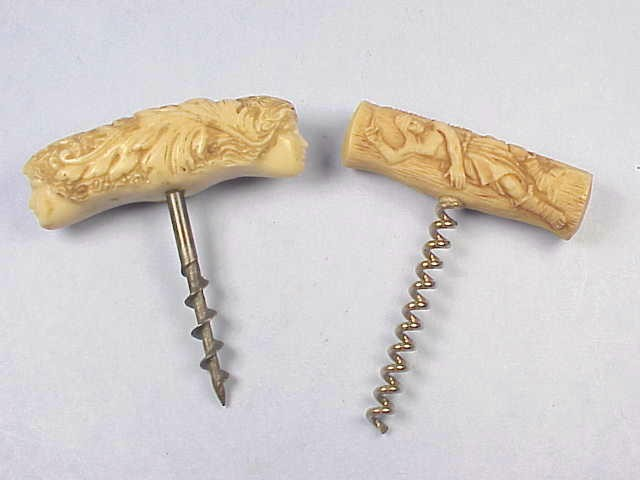 Two Argentinian Corkscrews – One Marked by Artist Arbio