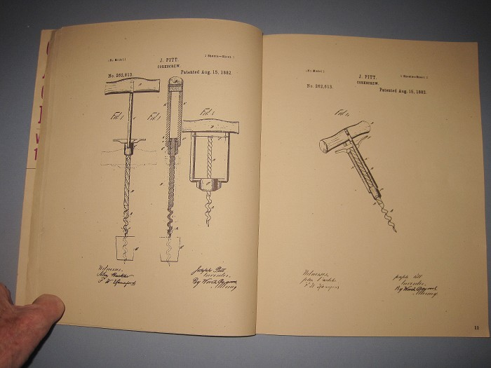 Philo Blake's 1978-82 Guides to American Corkscrew Patents