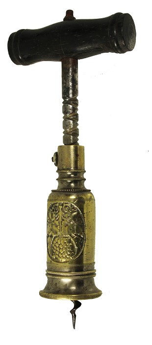 Demmler 's perpetual with brass barrel with grapes ca 1880