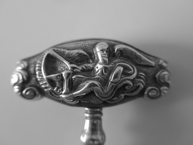 Dutch Silver Pocket !8C Corkscrew  Amsterdam 1769